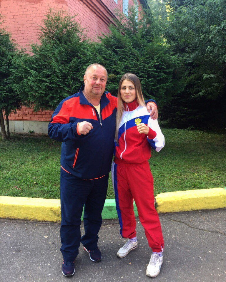 evropa yana i trener Kozlov